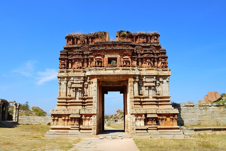 Temple et ruines d'Hampi, Karnataka - Inde