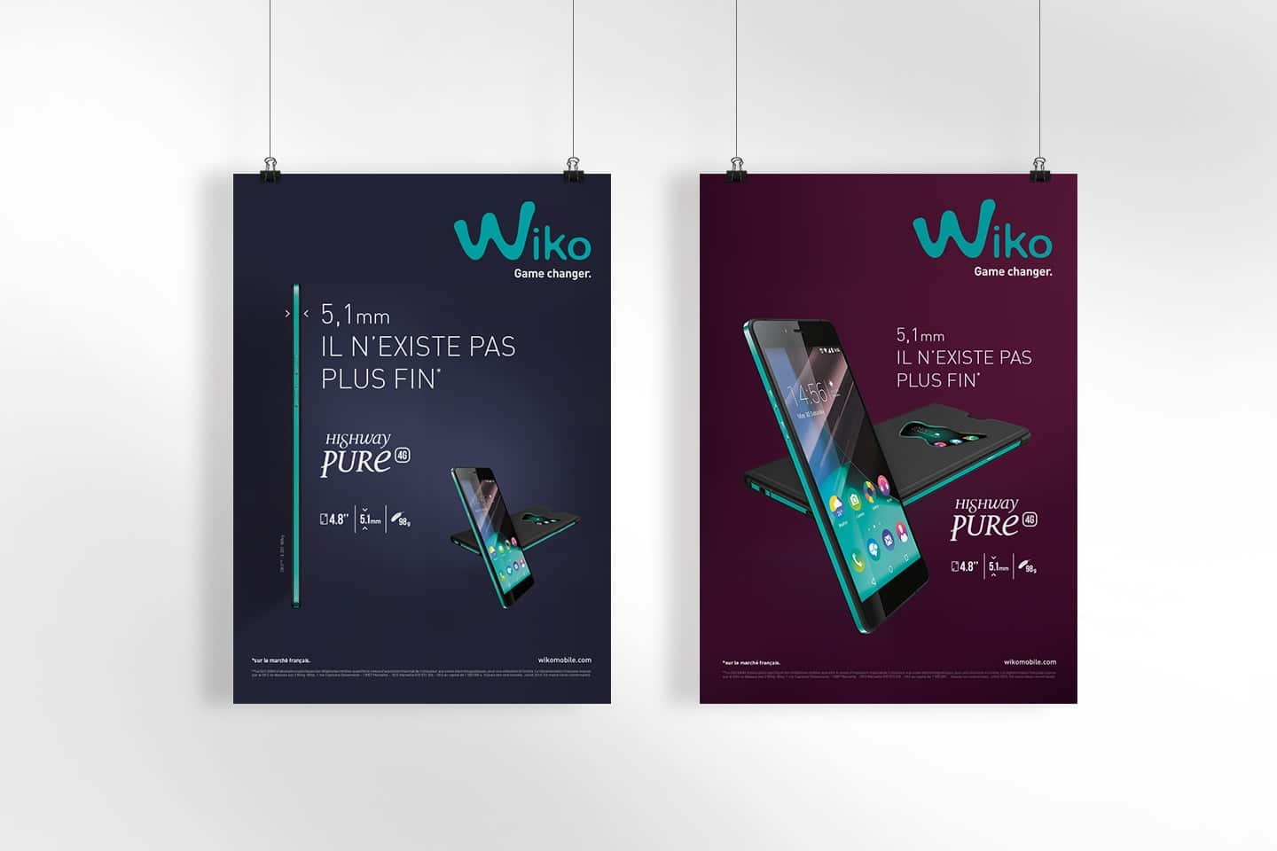 Wiko mobile Graphic design