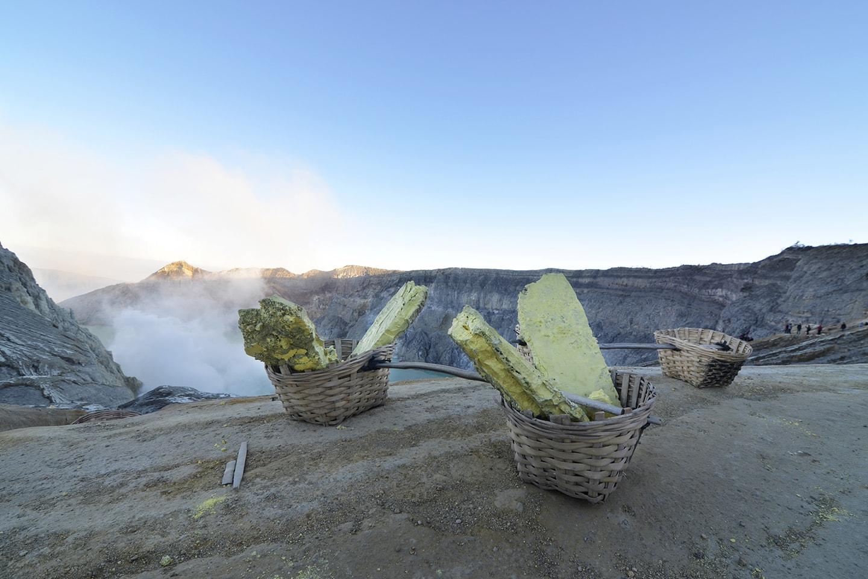 Volcan Kawah Ijen à Java - Indonésie