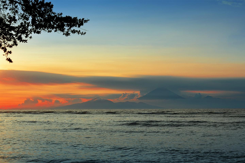 L'île de Gili Trawangan, Lombok - Indonésie