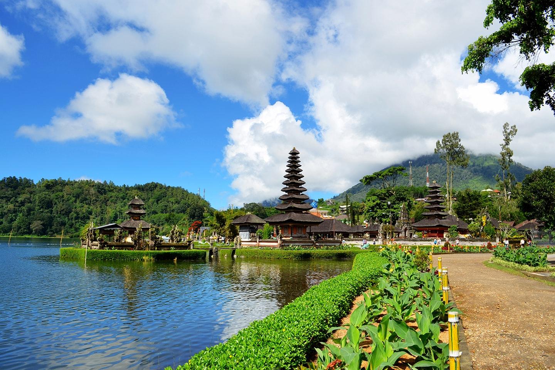 Temple de Bedugul, Bali - Indonésie