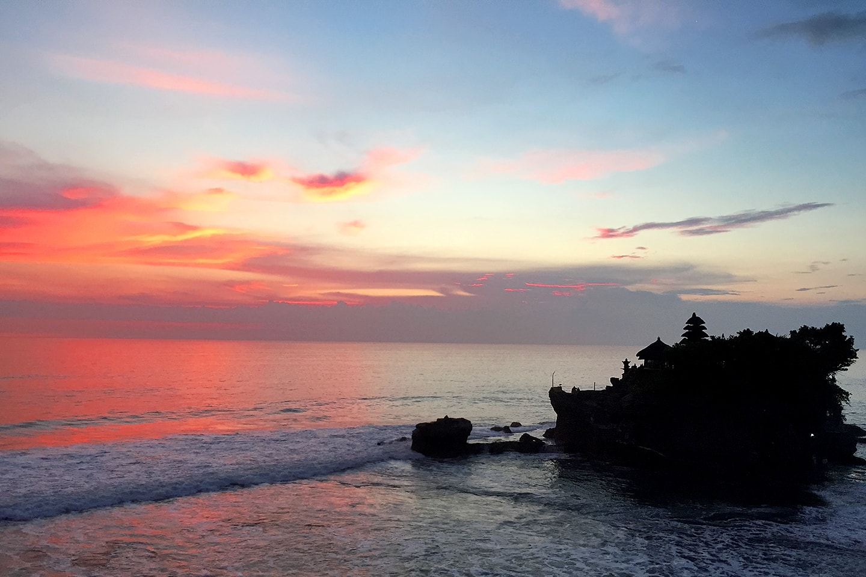 Temple Tanah Lot, Bali -Indonésie