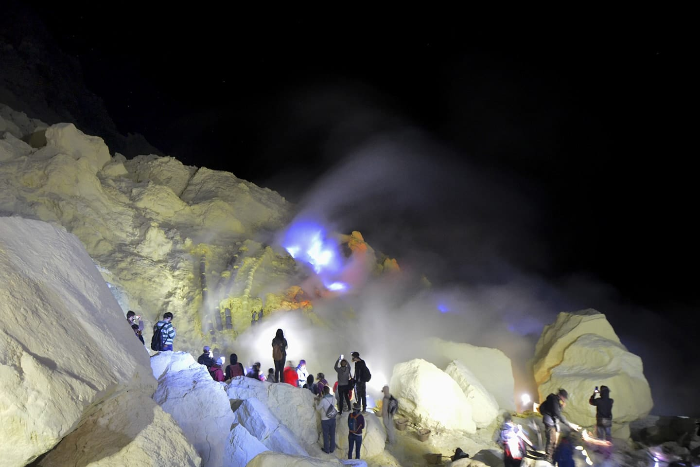 Ascension Volcan Kawah Ijen