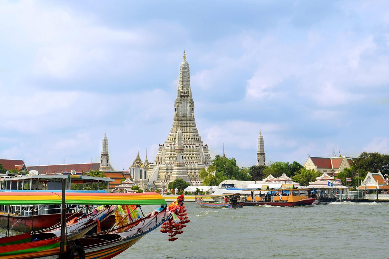 Temple de l'Aube (Wat Arun), Bangkok - Thailande