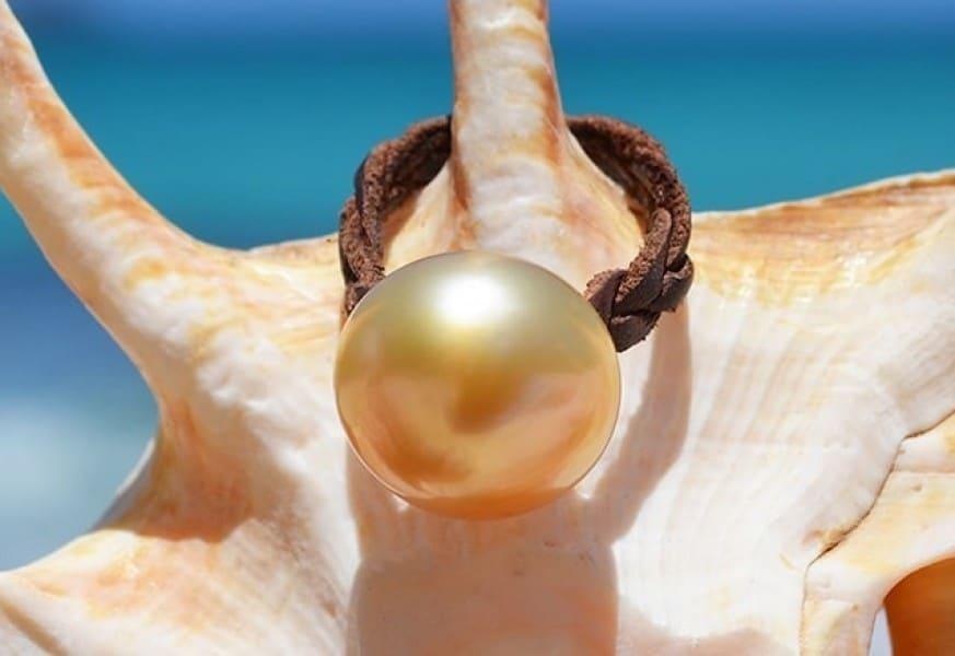 Bague perle d'Australie - Kalinas Perles