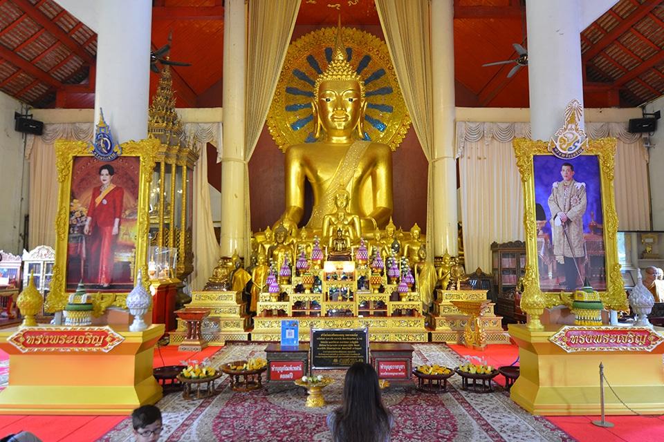 Le temple Wat Phra Singh à Chiang Mai en Thaïlande