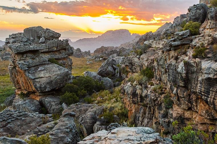 Les Rocklands : Afrique du Sud