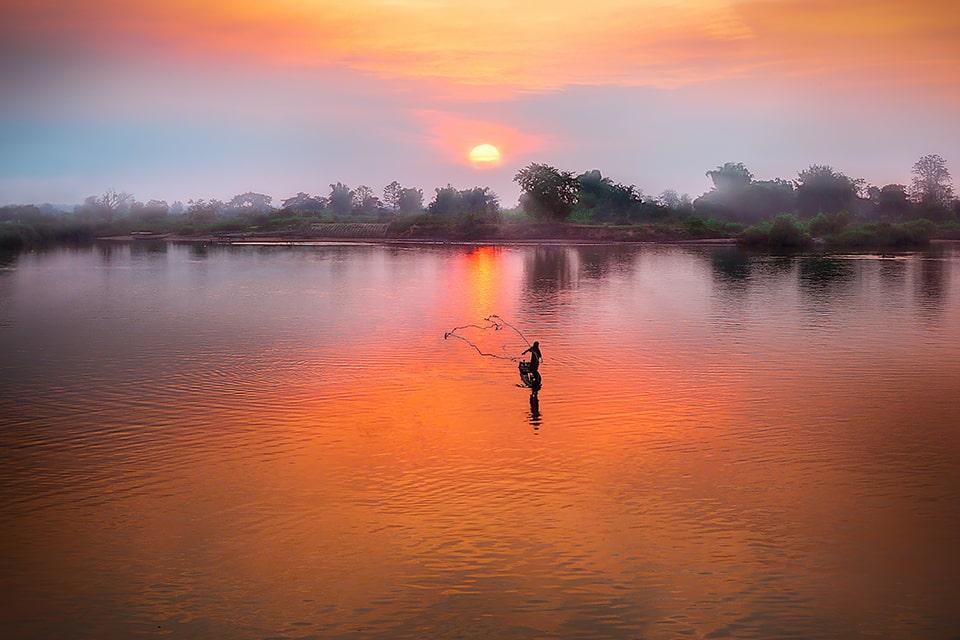 Escapade au delta du Mékong dans le sud du Vietnam