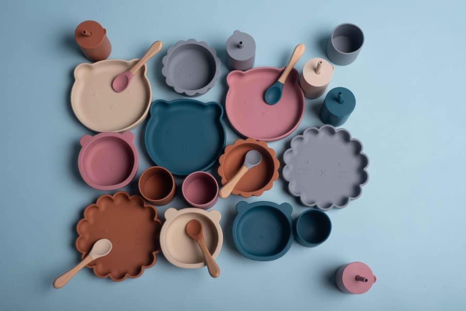 Soina, la boutique franco-italienne spécialisée en vaisselles en silicone pour bébé