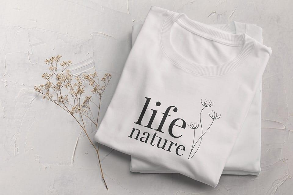 Votre tee-shirt personnalisé avec votre propre design sur Indigo